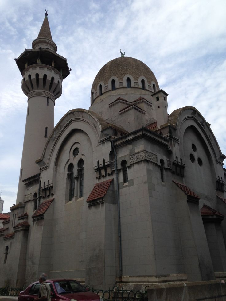 The biggest mosque in Romania is located in Constanta. Wonder why?