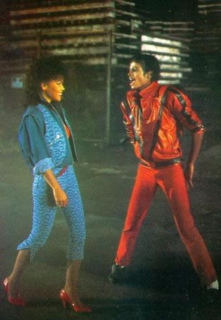 Thriller!!!!! What a great costume idea