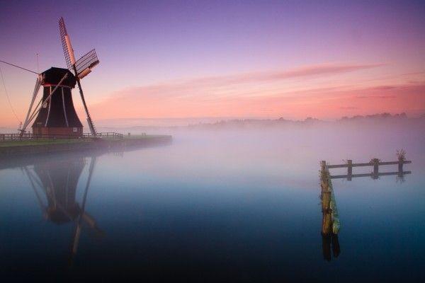 Helper molen near Paterswoldsemeer, Groningen