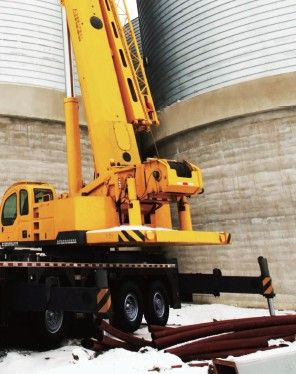 Truck Crane: QY110K Overall length: 14800/15270mm Overall width: 3000mm  For more information visit: www.integramotors.co.za/ #heavystuff#IntegraGroup