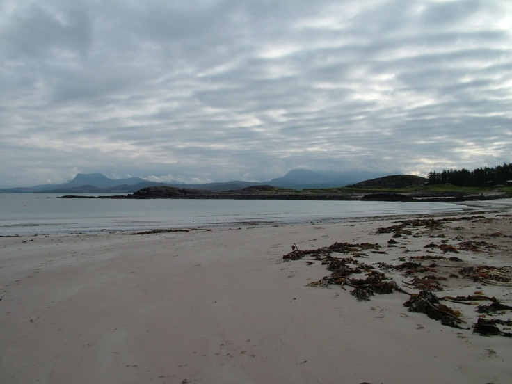 Mellon Udrigle is surrounded by wonderful scenery