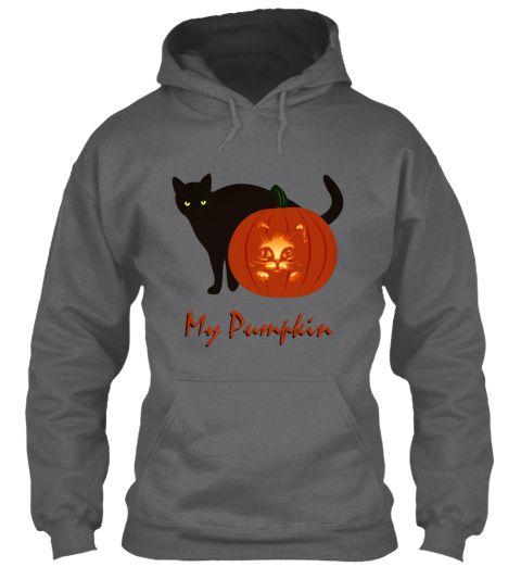 Pumpkin Dark Heather T-Shirt Front