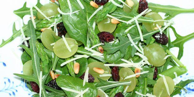 En sund og meget lækker salat.