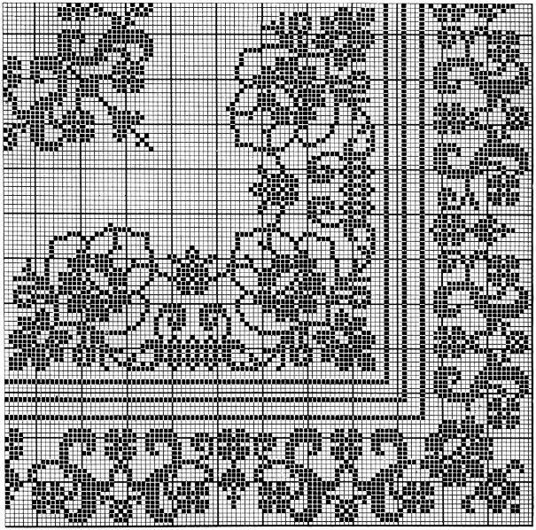 Aristocrat Filet Tablecloth