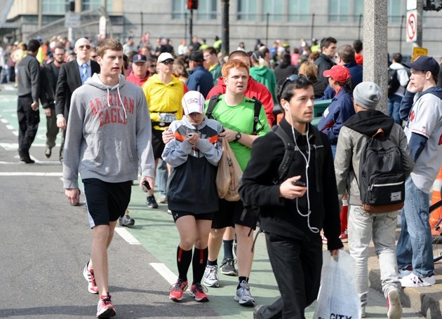 Explosions near Boston Marathon's finish line Boston