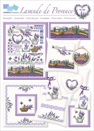 Lindner Vorlage 80 Lavande de Provence