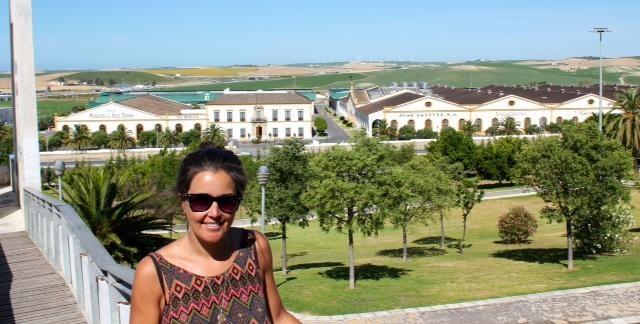 Caroline Brown in Jerez