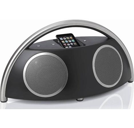 Alto-falantes portáteis de alto desempenho com dock para iPod e iPhone    Com o seu design discreto mais funcional, performance inigualável e incrível facilidade de uso, o Harman Kardon Go + Play II é uma façanha da imaginação.
