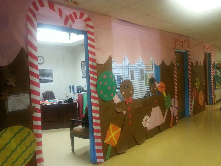 Gingerbread House Candyland Office Decoration Christmas
