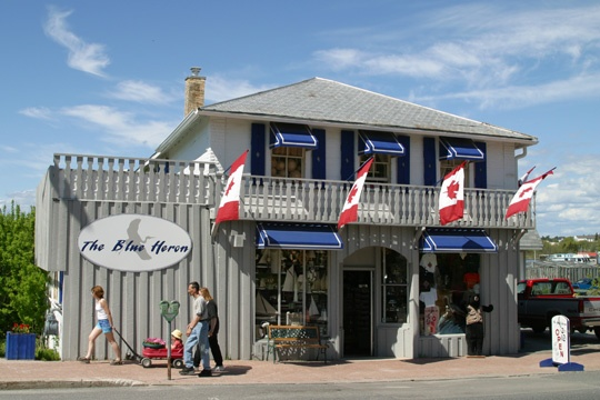 """The Blue Heron Gift Shop, Kenora, Ontario..love shopping here. All kinds of neat """"finds and treasures."""""""