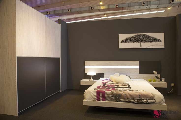 Dormitorio de matrimonio serie economica con cabezal - Muebles para cocina economica ...
