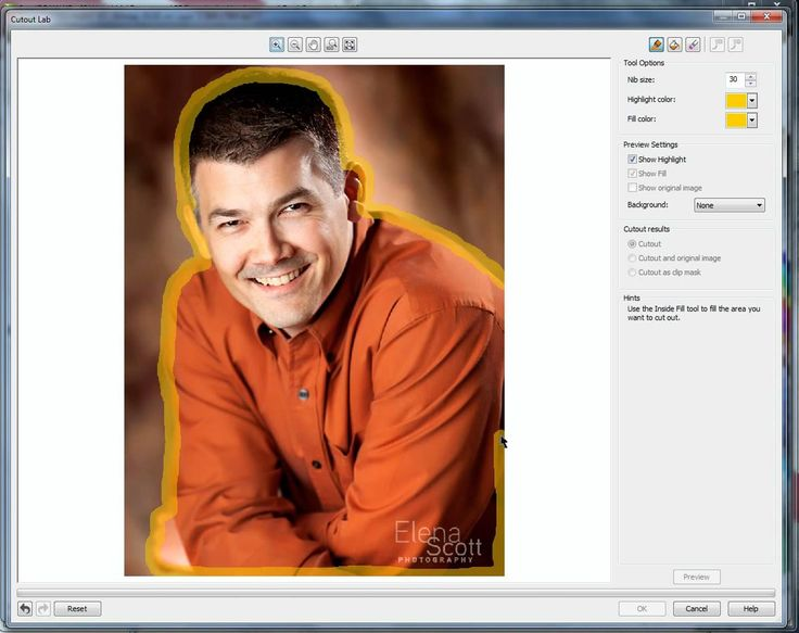 Corel Draw x5 - Removing a Background #2