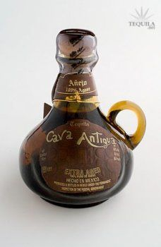 Cava Antigua Tequila Anejo - Comes in flavors almond being especially exquisite !