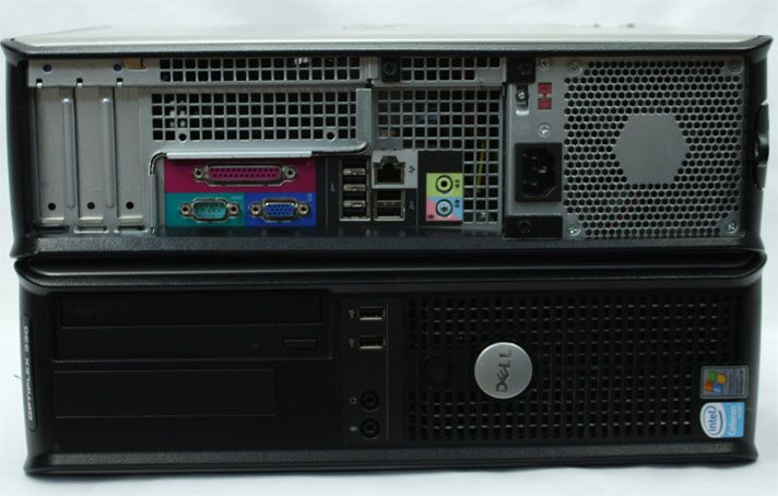 Calculatoare second hand  Dell 330/Dual Core 2.2G/1G/80G/DVD/Desktop #calculatoaresecondhand #calculatoaresh