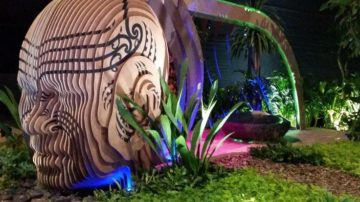 Modern Day Maui 2016   Singapore Flower Festival 2016 for New Zealand - Modern Day Maui by Adam Shuter