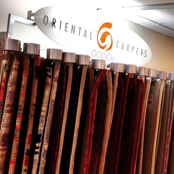 Rug Swing Arm Display For Gooch Oriental Carpets