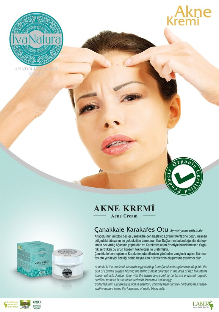 organic anti-acne cream from Çanakkale