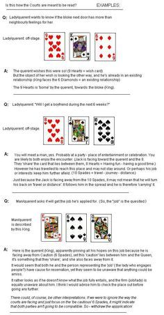 Cartomancy Meanings | Cartomancy (Playing Card) Meanings