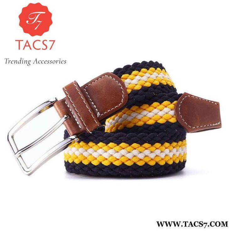 Item Type: BeltsPattern Type: PatchworkBelts Material: Polyester,Knitted,PU,Canvas,MetalBrand Name: KAVENPETERModel Number: KPE006Gender: MenBelt Width: 3.4cmBu