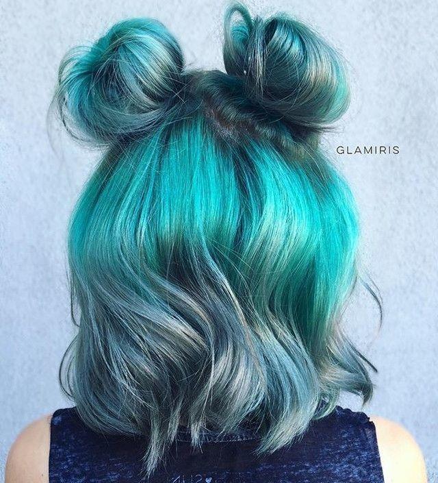 Sunday bun-day  #Hairspiration via @glamiris