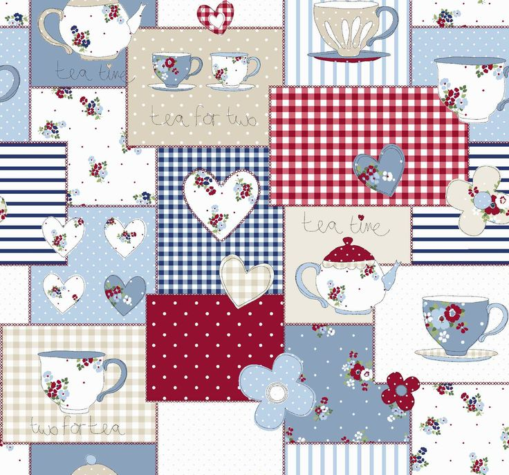 'Teatime' Children's fabric