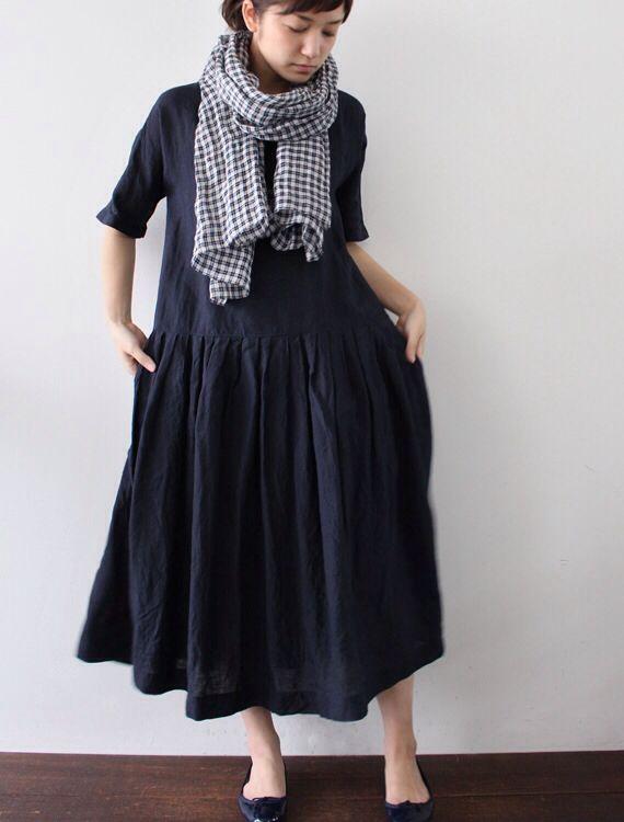 Lisette*エシャルプ・ガーズ・チェック(マラン)