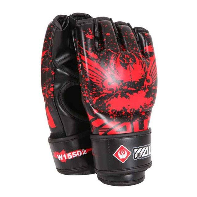 Adult Thick Boxing Gloves mma gloves half finger Sanda Taekwondo Fight MMA Sandbag Glove Professional Training Equipment