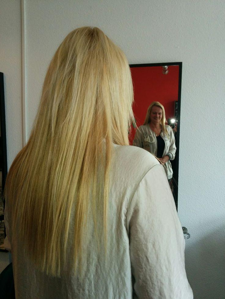 Verlenging met hairextensions geplaatst bij Haarstudio DUET & Friends ( Enschede ) te Hengelo