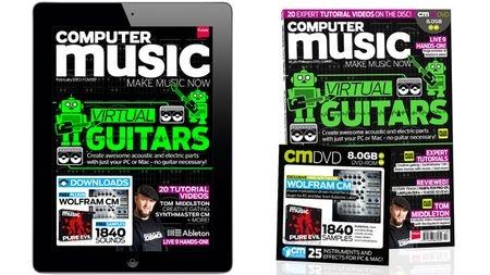 Computer Music 187, Feb 2013 - Virtual Guitars - On sale now