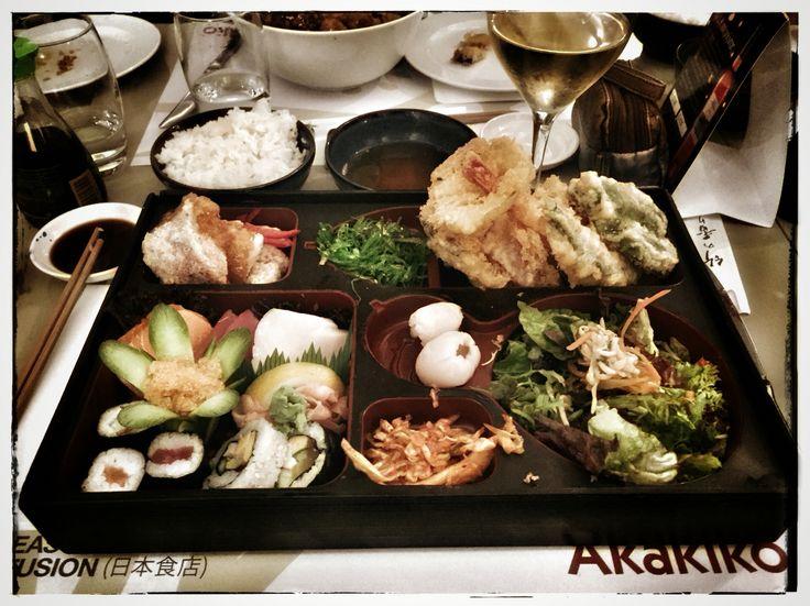 😋 My favorite Bento plate in Akakiko