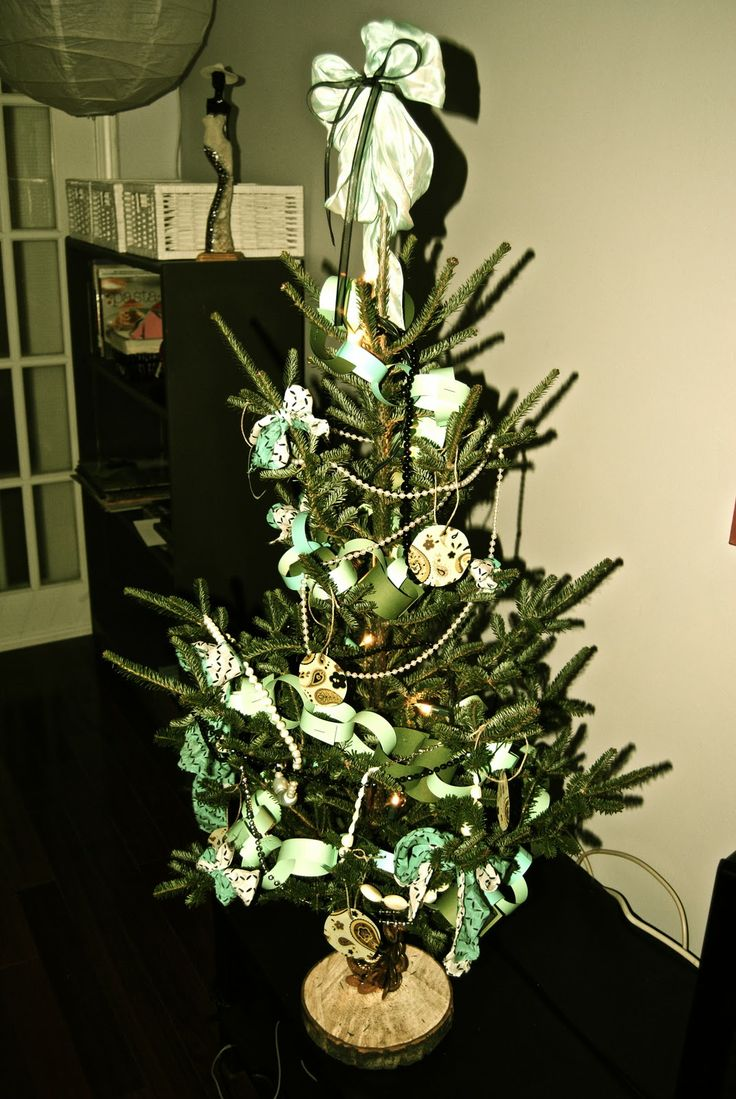 Unique small artificial christmas trees ideas on
