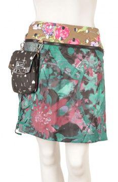 Anouk Lace long wrapskirt with pouchbag #FairlyTraded #Skirt #OneSize