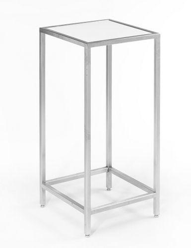 White Plexi + Chrome Cruiser Table