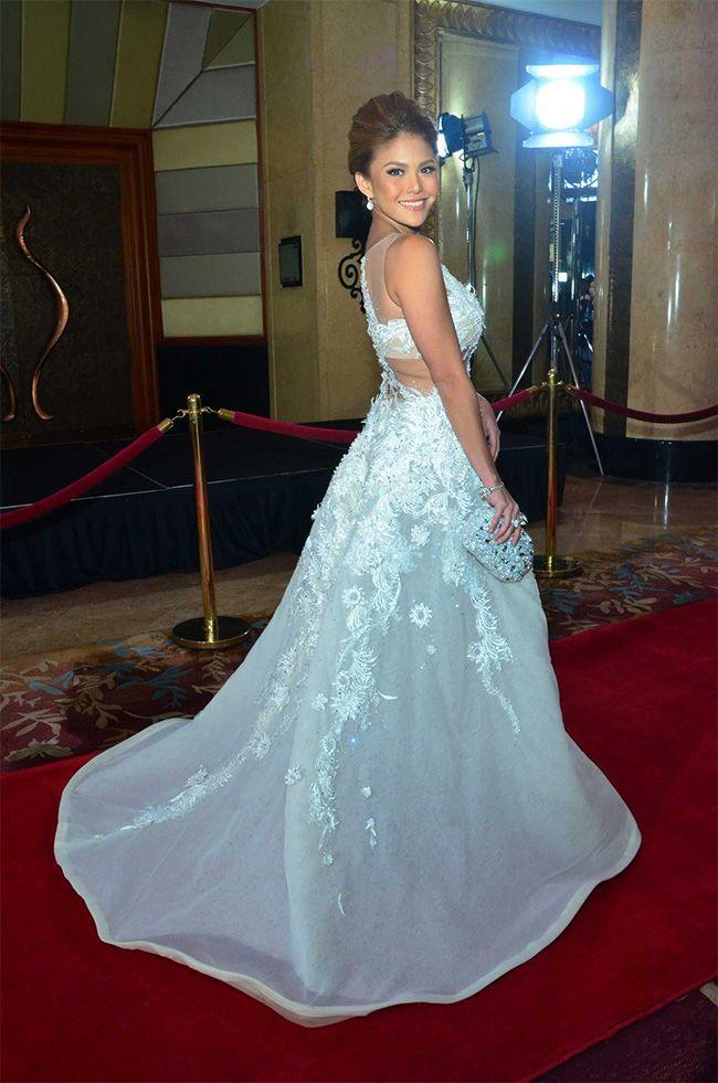 Denise laurel wedding dress
