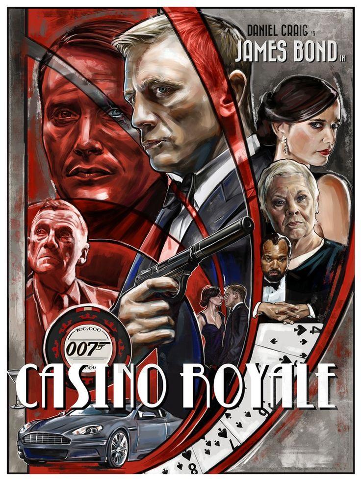 james bond poster casino royale