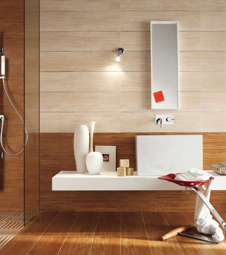 Colorful Retro Wood Bathroom Ideas Listed In: Natural Shower Curtains,  Natural Kitchen And Natural