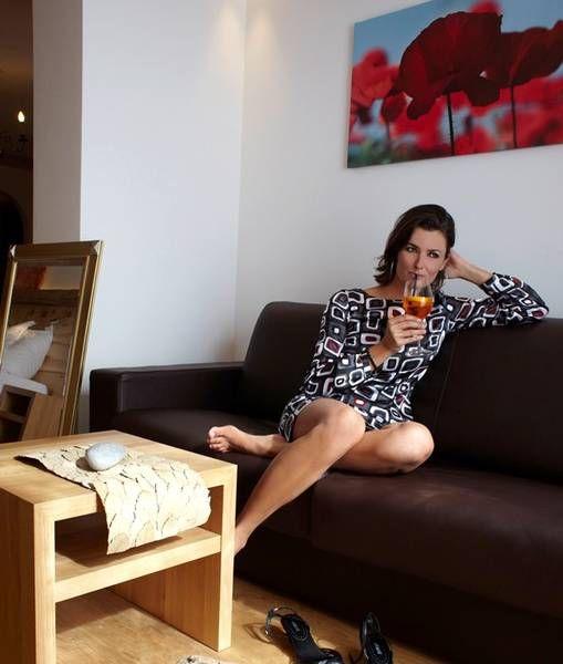 Gemütliche und weiche Couch