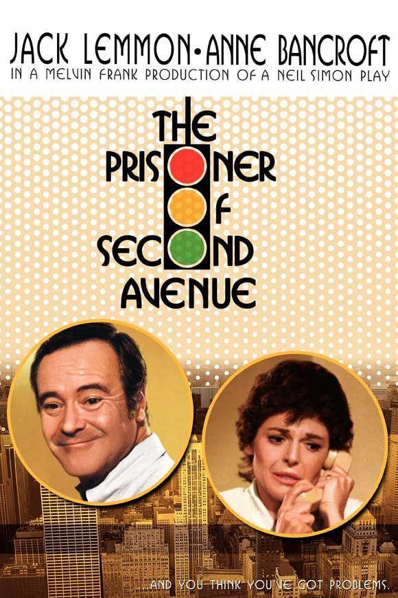 The Prisoner of Second Avenue (1975)  Director: Melvin Frank Writers: Neil Simon (play), Neil Simon (screenplay) Stars: Jack Lemmon, Anne Bancroft, Gene Saks, Elizabeth Wilson, Florence Stanley (Sylvester Stalone)