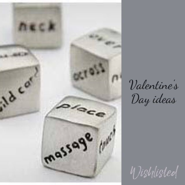 wishlisted_app#Spoil your special person with this great silver dice set #valentine #giftiddas #valentinesday #giftsforher #giftsforhim #massage #spoilt #wishlisted