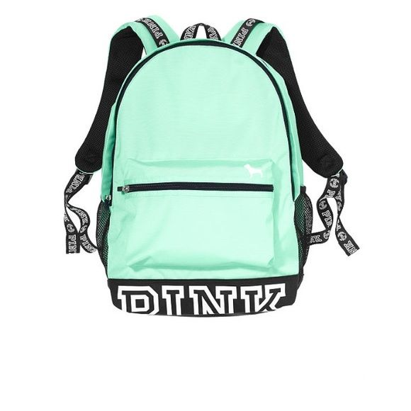 Shop Women's PINK Victoria's Secret size OS Backpacks at a discounted price at Poshmark. Description: Never has been used! Teal. PINK/Victoria Secret.. Sold by nevaeh_i. Fast delivery, full service customer support.