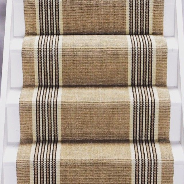 Think summer beach house ~ this Stair Berber Runner by Mohawk is perfect!