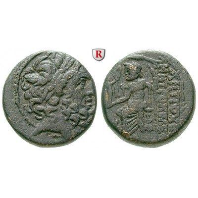 Seleukis und Pieria, Antiocheia am Orontes, Bronze um 49 v.Chr., ss+: Bronze 20 mm um 49 v.Chr. Caesareanische Ära. Kopf des Zeus r.… #coins