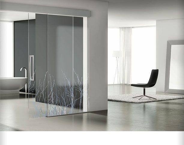 17 best ideas sobre puertas corredizas de vidrio en for Puertas correderas de cristal