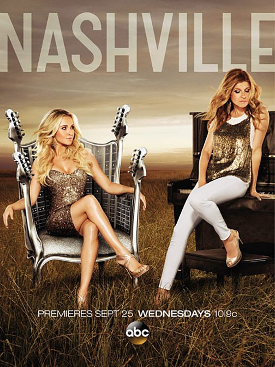 "ABC just revealed the key art for ""Nashville"" Season 2, and no surprise here: Juliette is still gunning for Rayna. But since Rayna starts off this season in a coma, she doesn't have time for a petty rivalry."