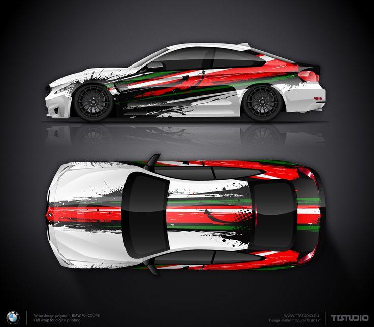Gambar terkait Racing car design, Car wrap design, Car