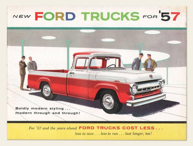 1957 Ford Trucks Brochure   OldBrochures.com