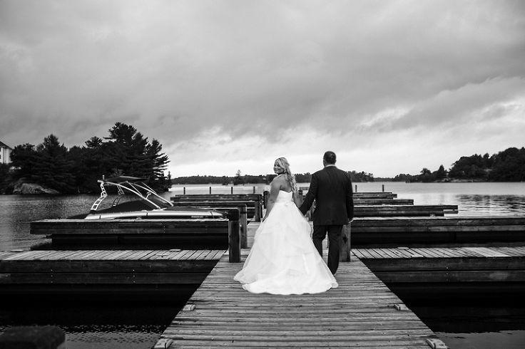 Jenne + Jason - Dock on the Bay, Gravenhurst Wedding