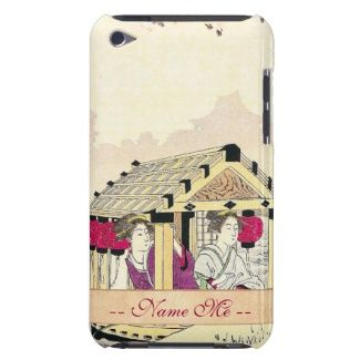 Tomioka Eisen in a pleasure boat japanese ladies Case-Mate iPod Touch Case #Tomioka #Eisen in a #pleasure #boat #japanese #ladies #vintage #oriental #customizable #gifts and #accessories #Japan #ukiyo-e #hanga #art #classic #custom #lady #woman #kimono #waterscape