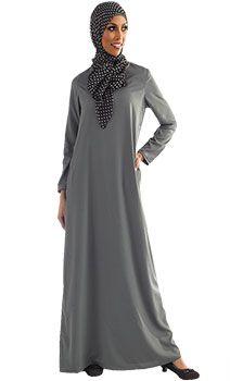 Basic Everyday Knit Abaya | Women | Eastessence.com