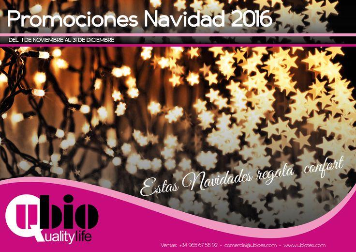 Ya tenemos disponibles nuestras magníficas ofertas navideñas!! No esperes al último momento y consúltanos sin compromiso en nuestra web: http://www.ubiotex.com o por teléfono: 965675892